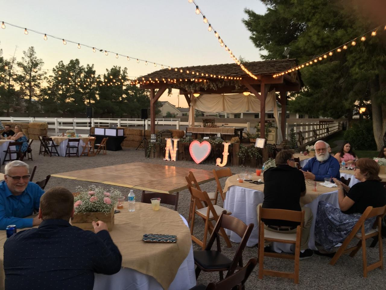 Legends Ranch October Wedding