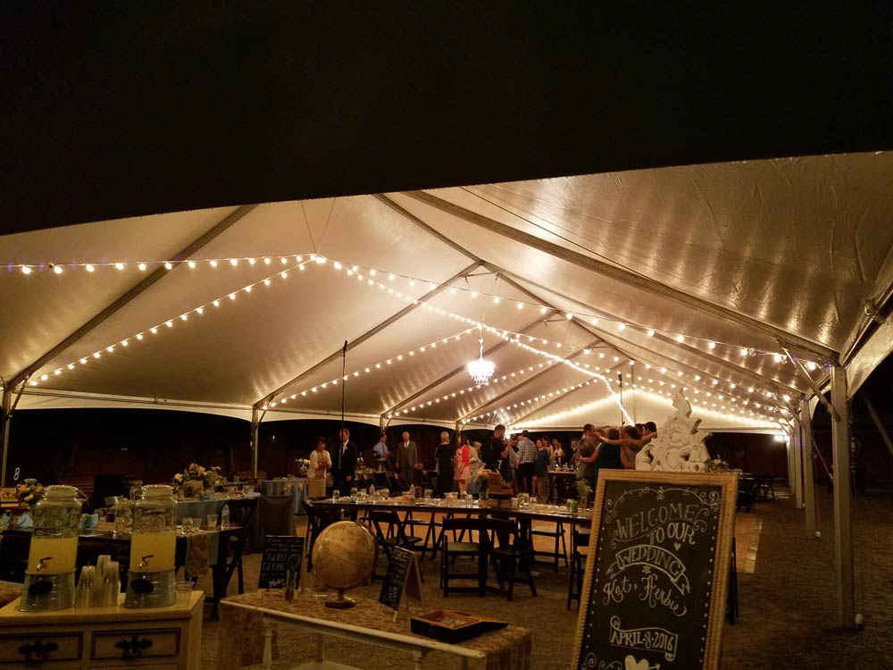 Wedding tent lighting Las Vegas & Vegas Event Lights :: Lighting Service Detail