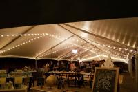 Wedding tent lighting Las Vegas