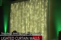 Lighted wedding backdrop Las Vegas