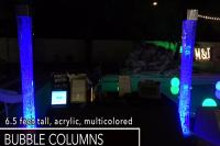 LED Bubble Column Rental Las Vegas