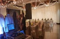 Paiute Wedding Bistro lights